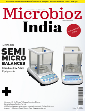 Laboratory Balances latest launches : October 2017 Issue